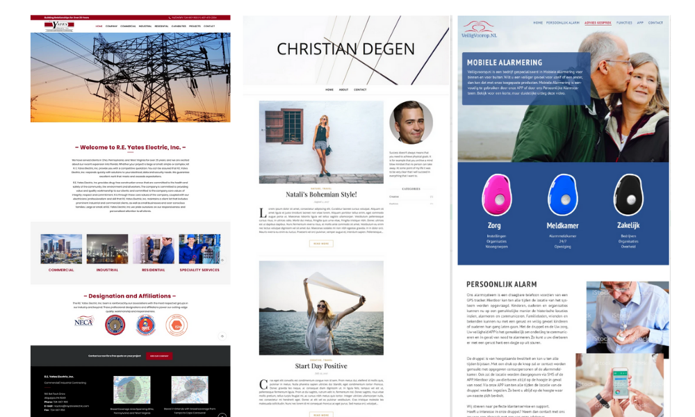 Customized Website Design